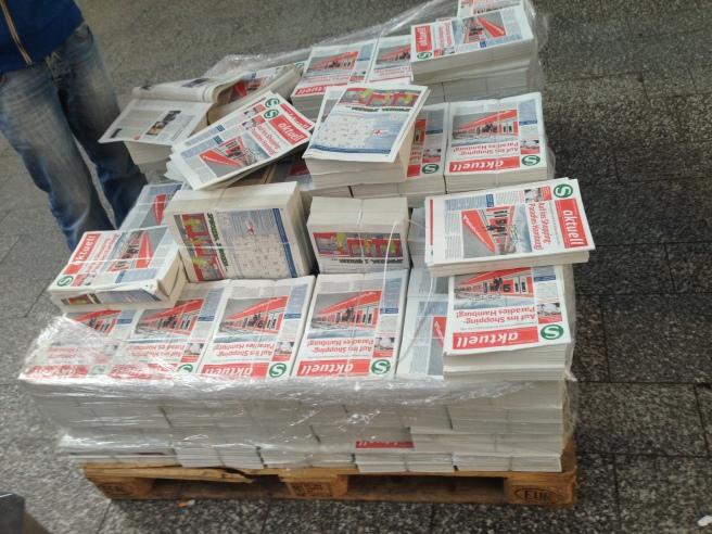 S-Bahn-Zeitungen